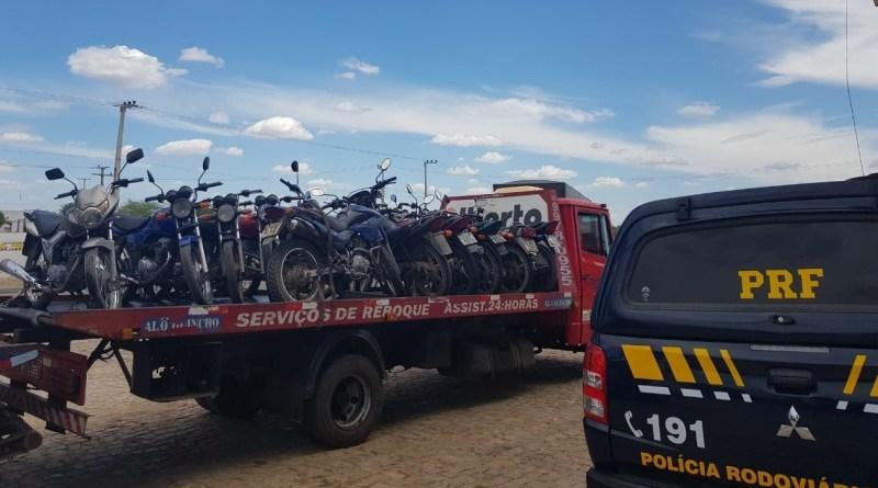 Mais de 400 veículos já foram autuados em operação da PRF