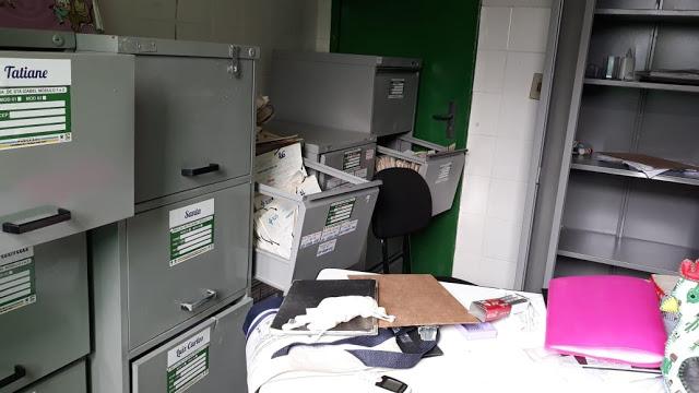Bandidos invadem e furtam objetos de UBS em cidade do Piauí