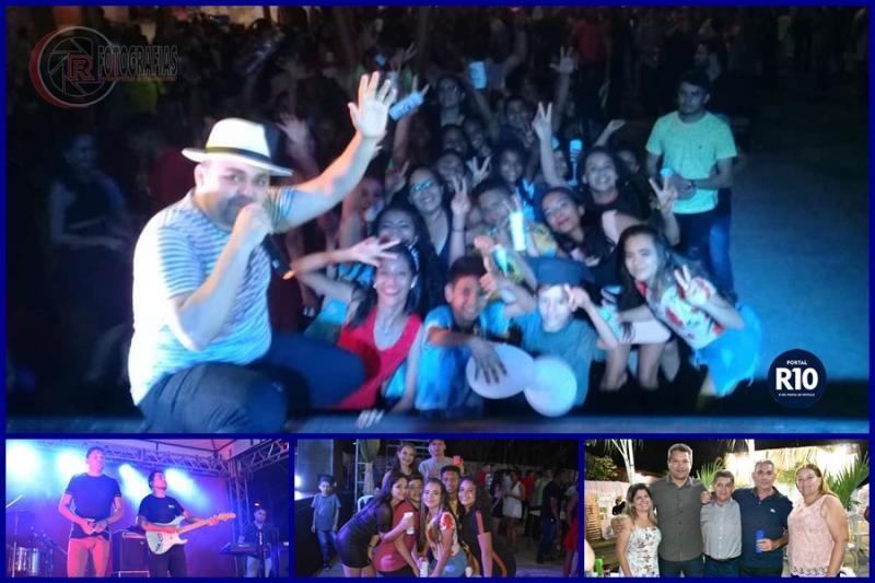 FORRÓ NO GRAU | Faz grande show em baile de colação de grau em C. Largo -PI