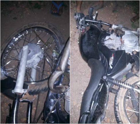 Jovem morre após colidir moto com poste na BR 222 no norte do Piauí