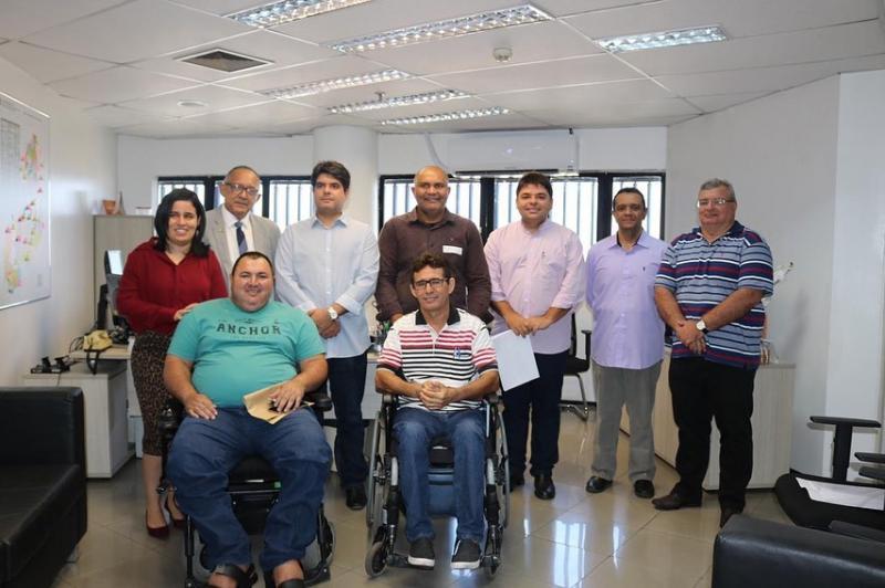 OAB Piauí apresenta relatórios sobre acessibilidade ao Diretor-Geral do TRE