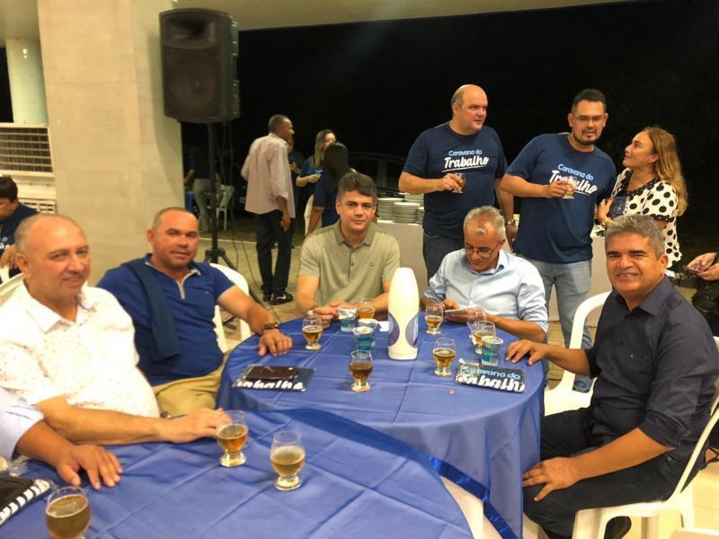 Corrente | Prefeito participa do lançamento oficial da Caravana do Trabalho