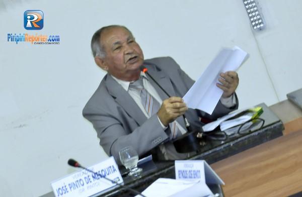 Após exames médicos, Dr. Pinto volta às sessões e vota contra pedido do prefeito