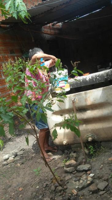 Grande parte do município de União passou o natal sem abastecimento de água
