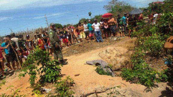 Corpo de homem é encontrado enrolado em tapete dentro de buraco no Piauí