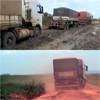 Fazendeiros no Piauí fazem 'vaquinha' para recuperar estradas e escoar a produção