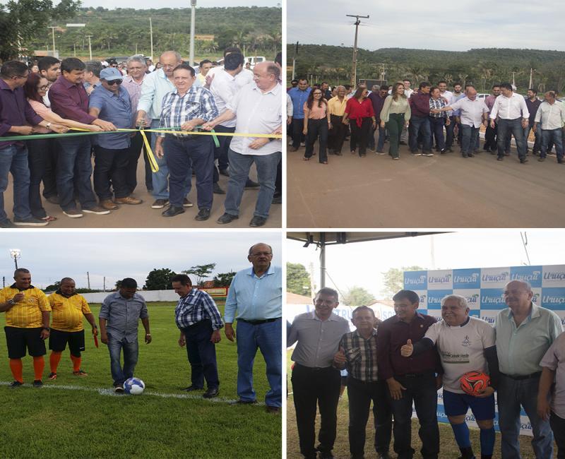 Reforma do estádio Marrecão e entrega da pavimentação marcam festejos de São Sebastião em Uruçuí