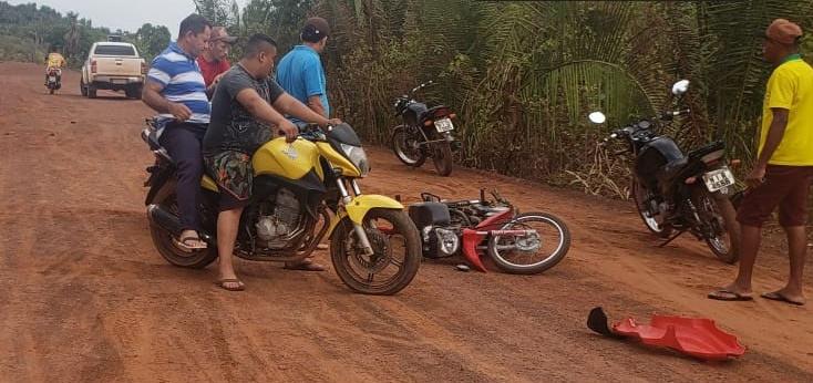 Colisão frontal entre motos deixa idoso morto no Piauí