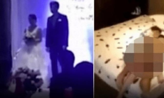 Durante casamento, noivo exibe vídeo da noiva na cama com o cunhado; veja!