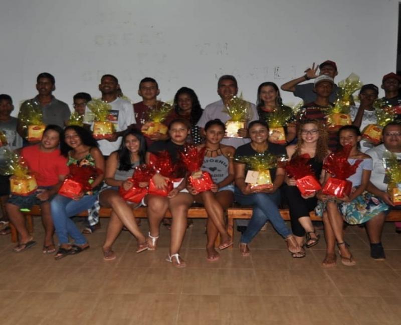 Prefeitura de Corrente realiza enceramento das atividades anuais no SCFV