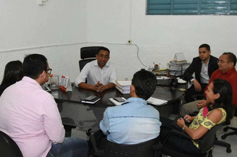 Modelo de Gestão Municipal: Floriano recebe secretários de União para troca de experiências