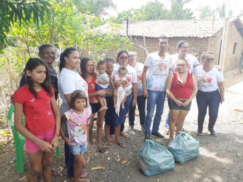 Prefeitura de Agricolândia realizou entrega de cestas básicas para famílias