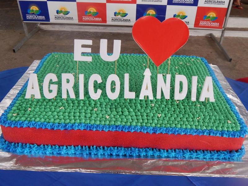 Agricolândia | População participa do Corte do Bolo e o Sorteio do IPTU