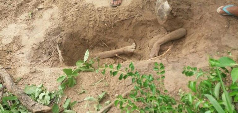 Jovem morre após ser enterrado vivo no Piauí