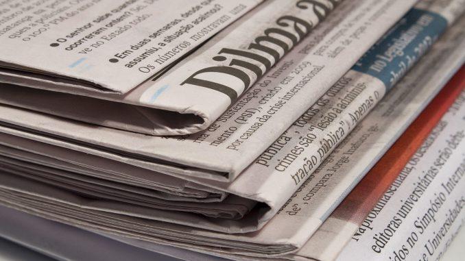 2 de janeiro - Os destaques da mídia nacional