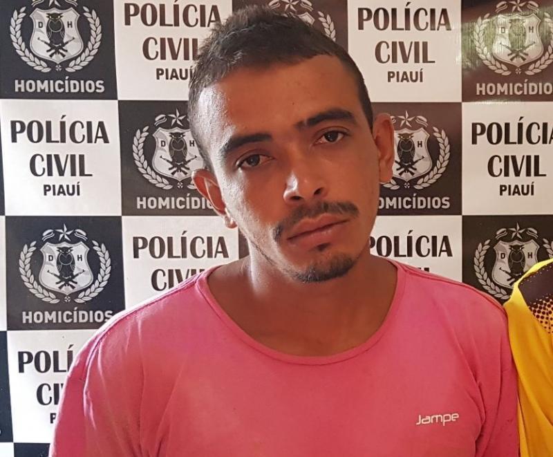 Acusado de matar homem a tiros, pauladas e pedradas é preso em Teresina