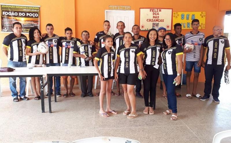 Capitão de Campos:Time Fogão do Poço ganha registro de associação social