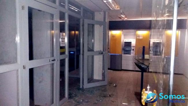 Quadrilha assalta agência do BB e causa terror em São Francisco do MA