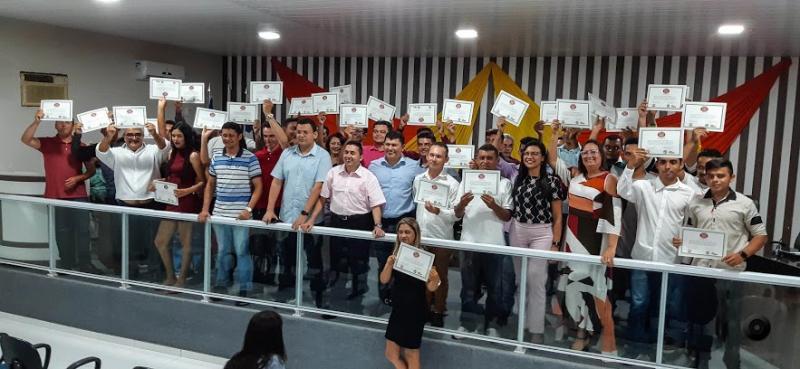 Cocal | Prefeitura promove entrega de certificados do Curso de Brigadista