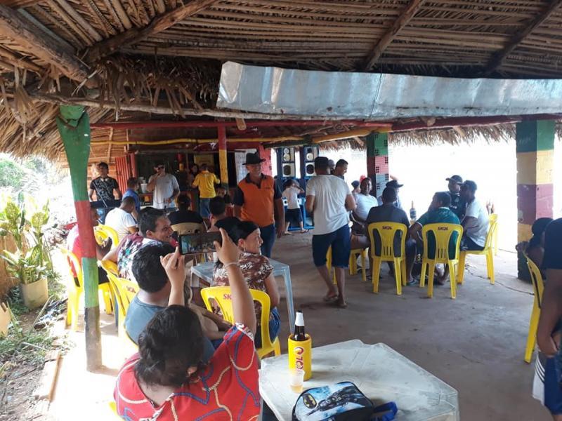 Bar do Juca do Açude realiza 1ª manhã de sol do ano em Beneditinos