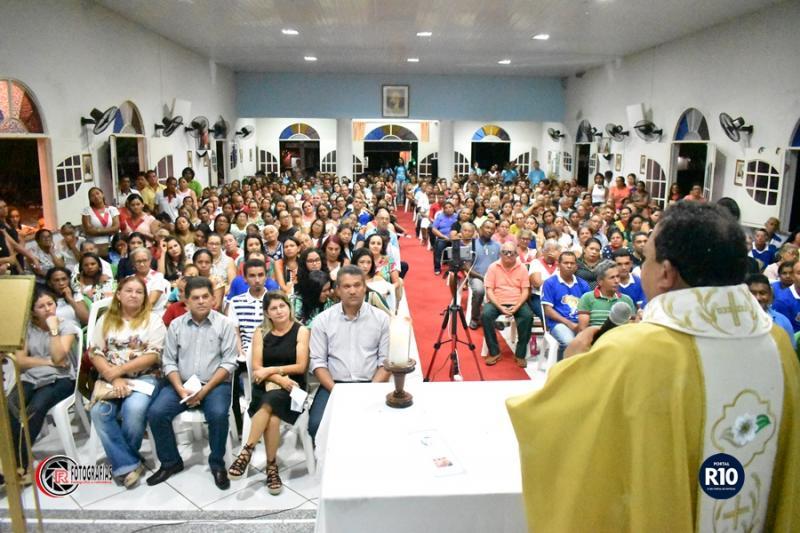 Posse Canônica de padre Eduardo em Cocal de Telha-PI ( Foto: RF Fotografias)