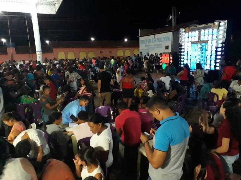 Bingo promovido Pelo Grupo Big Brasil foi um Sucesso de Público.