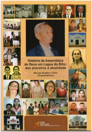 Culto de Lançamento do livro de Abiúde Nadabe aconteceu em Lagoa do Sítio.