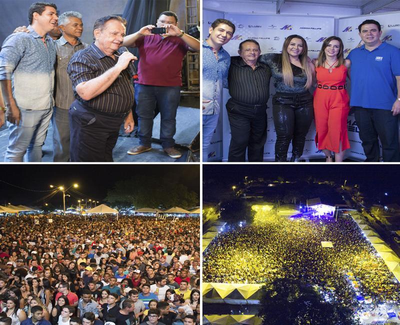 Grande Festa Finaliza o Festejo de São Sebastião em  Uruçuí