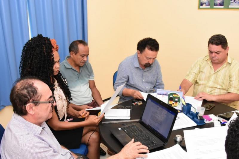 Integrantes da COEF fazem nova reunião sobre o carnaval 2020