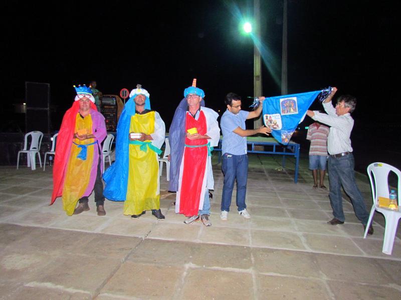Dom Expedito Lopes realiza a 1ª Festa de Santos Reis no Povoado Gaturiano.