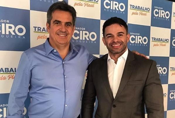 Nas rede sociais, Ciro Nogueira parabeniza B. Sá Filho e Belê Medeiros