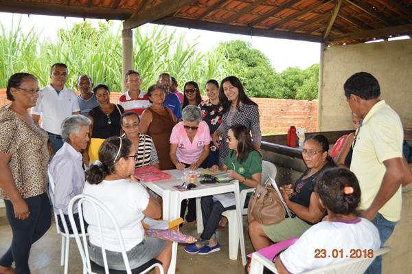 Prefeita Doquinha leva o INTERPI para regularizar terras em Colônia do Gurgueia-PI