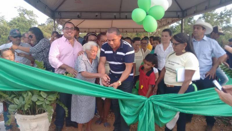 Prefeitura de Parnaguá inaugura ponte na localidade Malhadinha