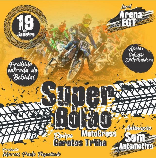Super Bolão de Motocross em Gilbués-PI dia 19 de janeiro 2020
