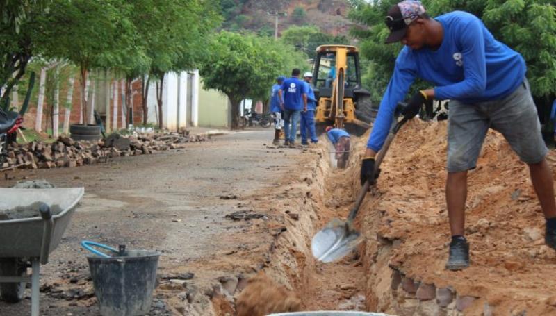 SAAE inicia mais uma etapa de expansão da rede de esgotamento em Oeiras