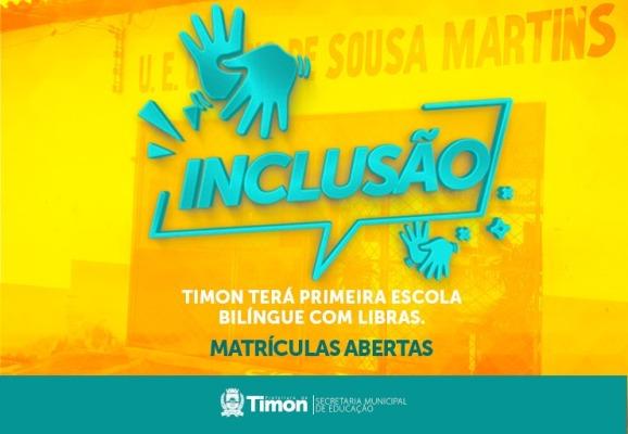 Timon terá primeira escola bilíngue com LIBRAS para alunos com surdez