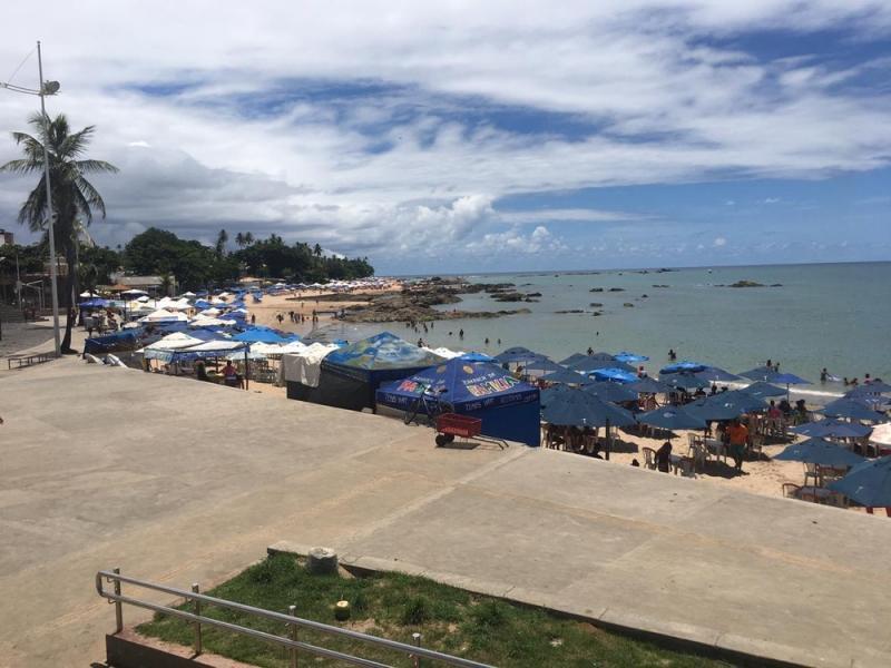 Piauiense é estuprada durante assalto em praia de Salvador
