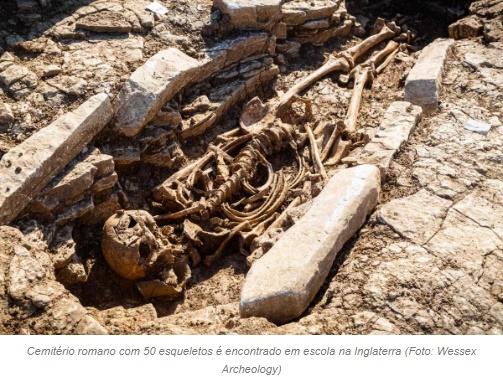 Cemitério com 50 esqueletos da alta sociedade é descoberto; fotos!