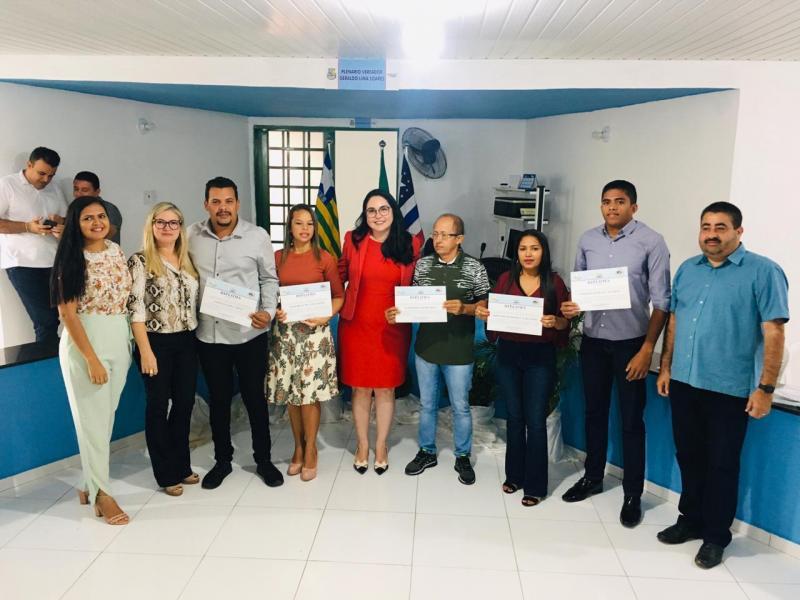 Novos conselheiros tutelares tomam posse em Lagoa do Piauí