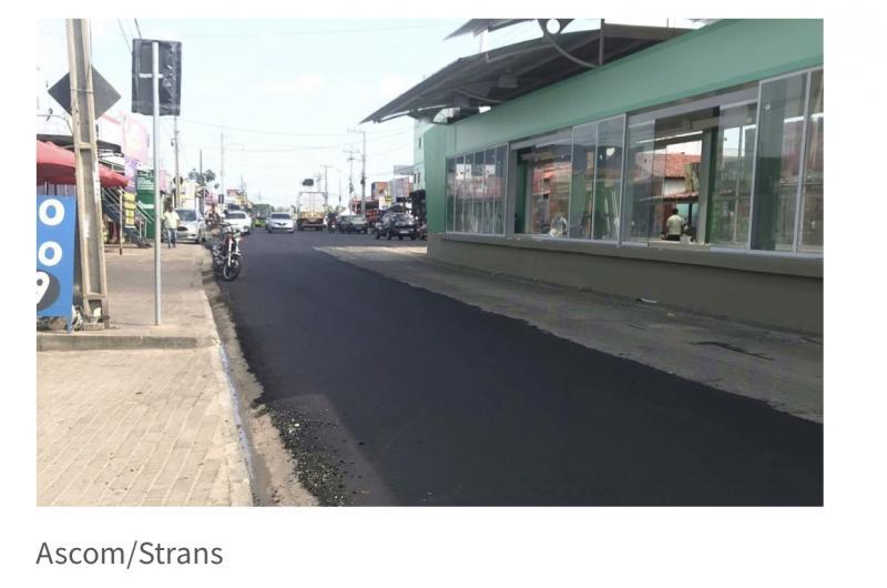 Trecho da Rua Rui Barbosa receberá nova sinalização na segunda