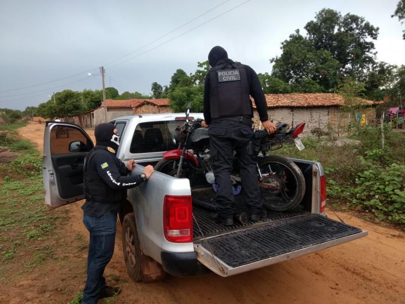 Polícia Civil desarticula bocas de fumo e apreende materiais no Piauí