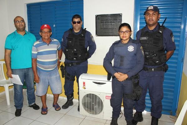 GCM/Timon prende ladrão em flagrante e recupera equipamento roubado