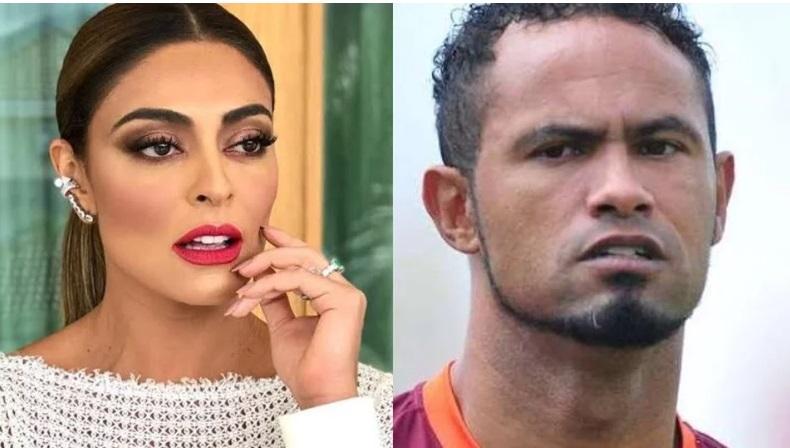 Juliana Paes inicia campanha contra contratação de goleiro Bruno