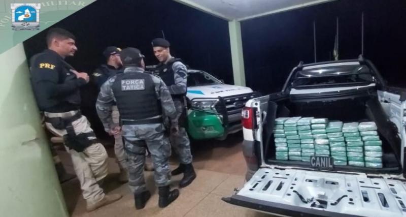 Polícia apreende cocaína avaliada em mais de 1 milhão de dólares no PI