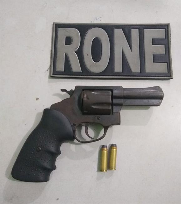 Arma é encontrada dentro de carrinho de bebê em Teresina