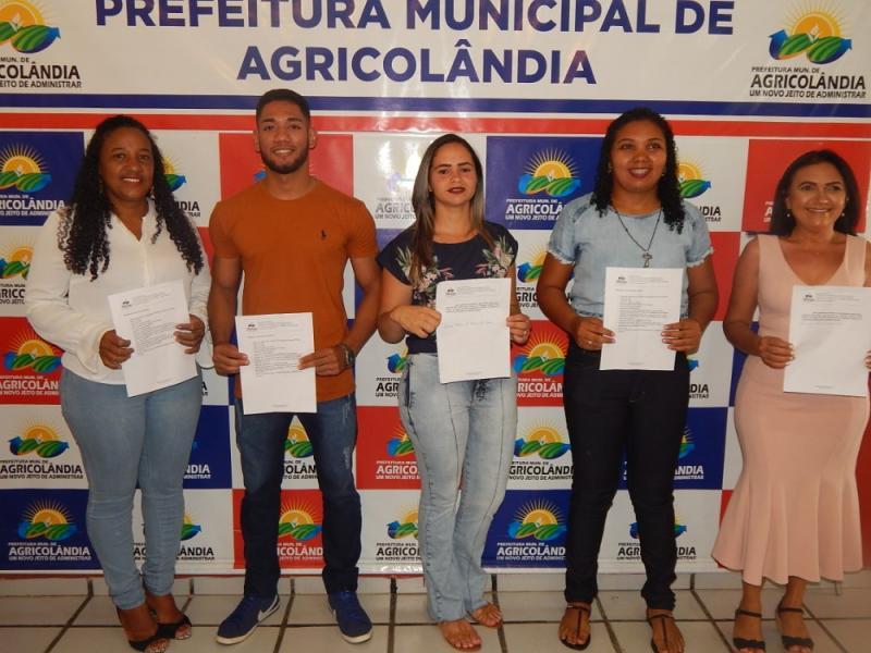 Novos Conselheiros são empossados na Cidade de Agricolândia