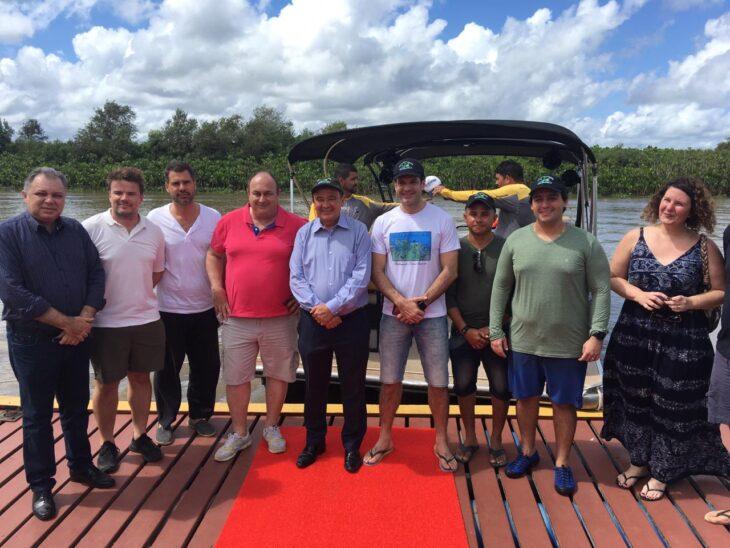 Ministro do Turismo visita litoral do Piauí - Foto: Ccom