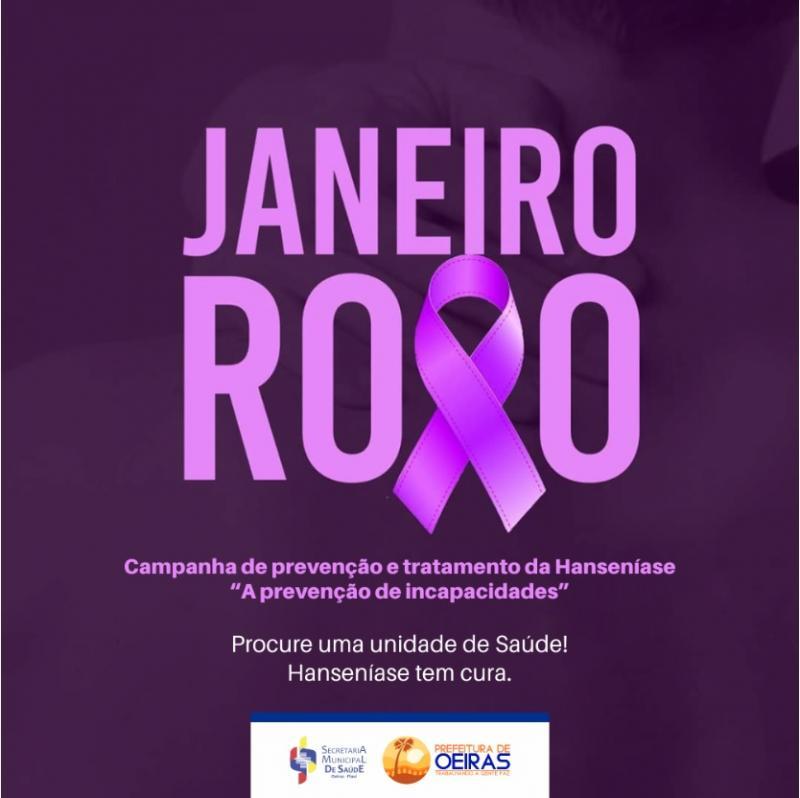 Janeiro Roxo intensifica combate e prevenção à Hanseníase em Oeiras