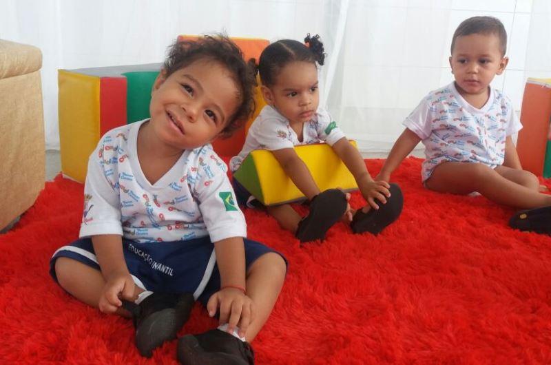 Prefeitura oferta vagas para crianças nas creches municipais