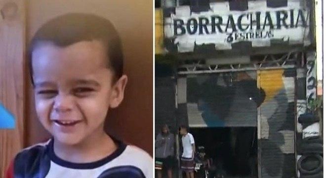 Criança morre após ser atropelada na calçada por carro desgovernado